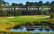 Golf's Mecca takes flight
