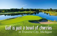 Golf is just a bowl of cherries in Traverse City, Michigan