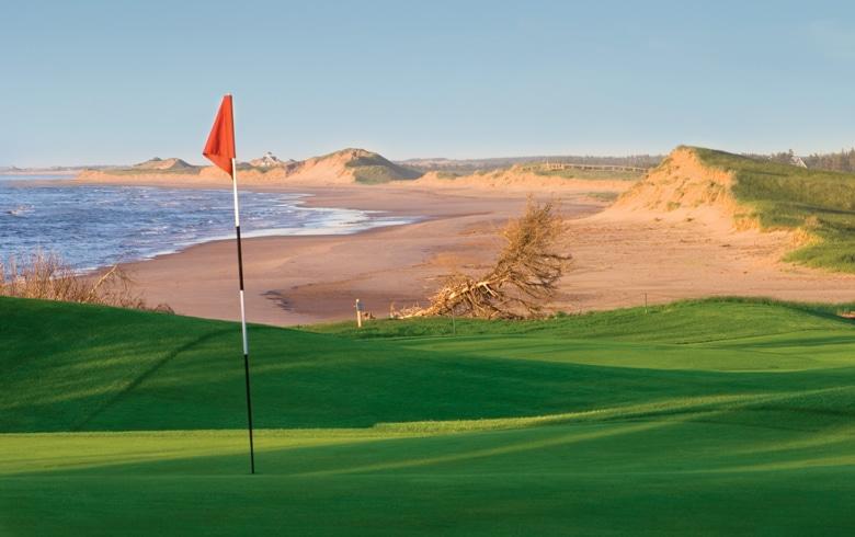 16th at The Links at Crowbush Cove Golf Club - Prince Edward Island