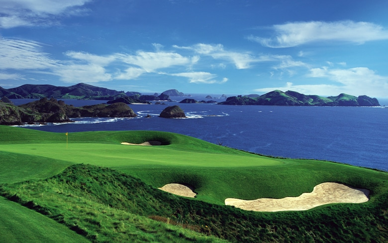 Kauri Cliffs, Hole 7 - New Zealand