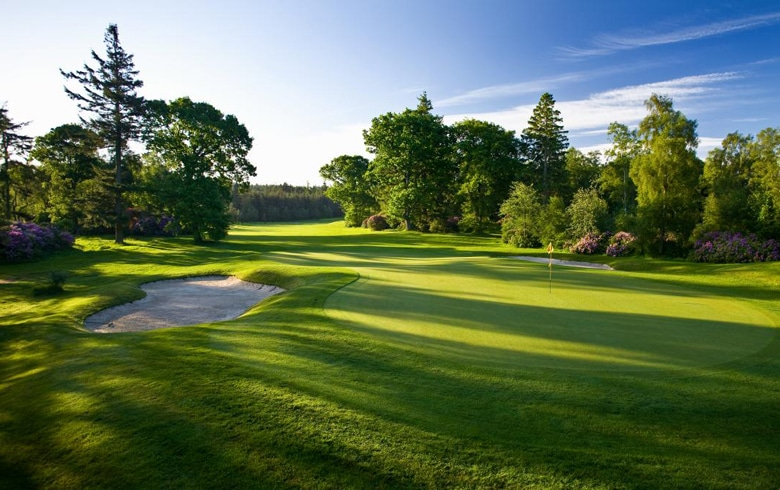 Hunting Championship Golf Course - Slaley Hall - England