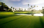 The Palms Course, hole 18 - Sanctuary Golf & Country Club - Australia