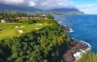 Signature Hole #7, Princeville Makai Golf Club, Hawaii