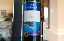 $9.95 - Two Oceans Shiraz 2016, ONE AND DONE
