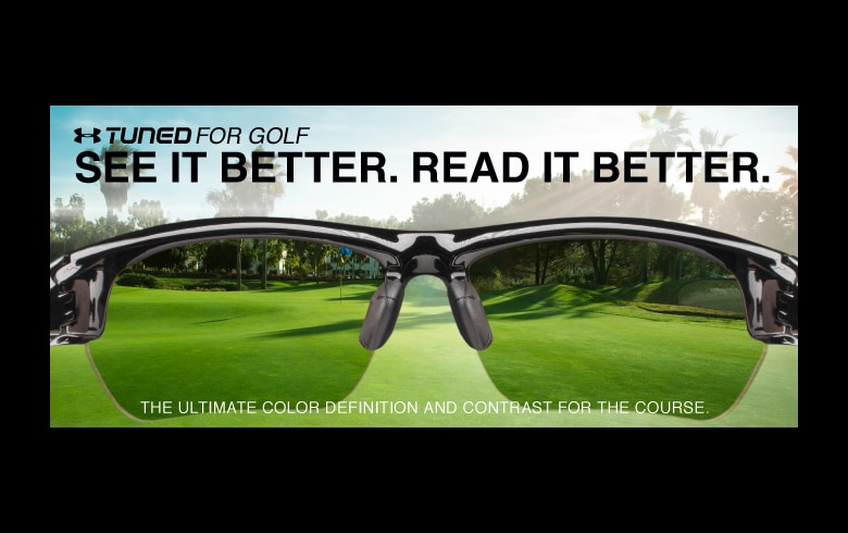 Under Armour fine Tuned into golf sunglasses market