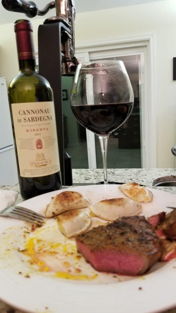 $17.95 - Srella & Mosca Cannonau di Sardegna Reserva 2015