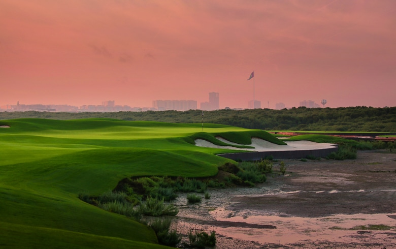 Al Zorah Golf Course, Ajman, United Arab Emirates