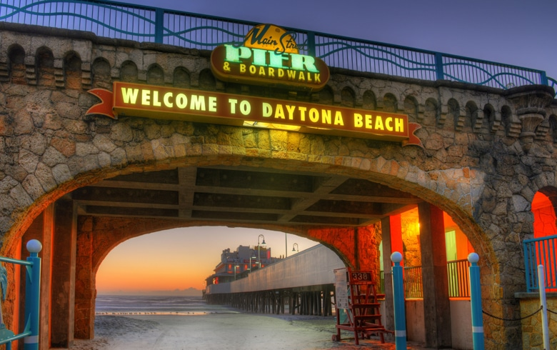 Speed is the thing in Daytona Beach