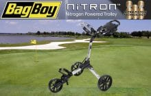 Tame the Terrain with Bag Boy's Nitron™ Push Cart