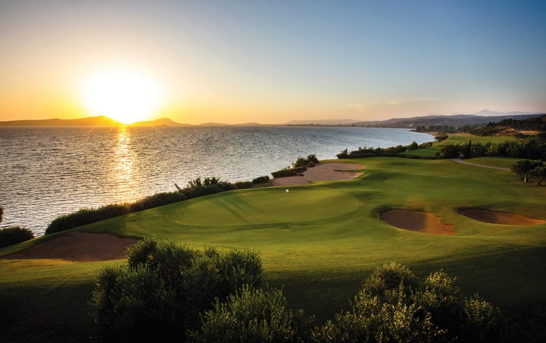 The Bay Course at Costa Navarino, Greece