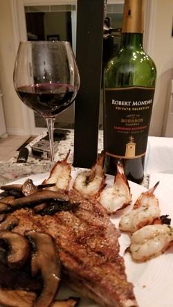 $20.95 – Robert Mondavi Private Selection Bourbon Barrel Cabernet Sauvignon 2017