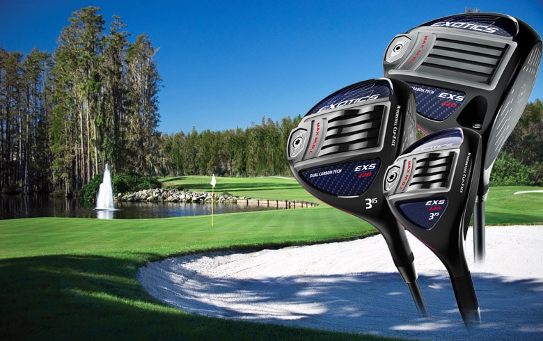 Tour Edge:  New Exotics EXS 220 Metalwoods