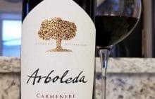$19.95 - Arboleda Carmenère 2017