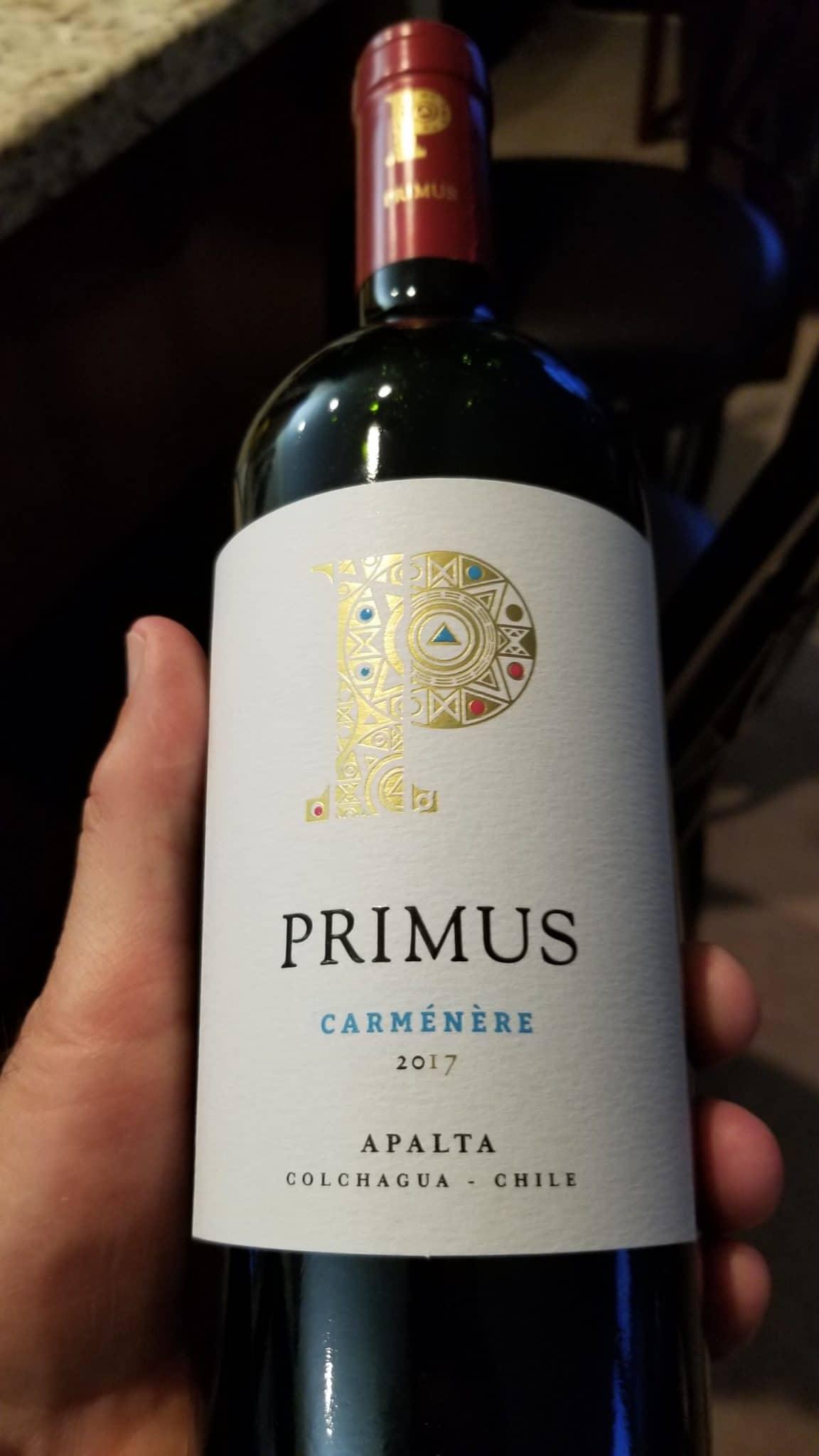 $19.95 - Primus Carmenere 2017