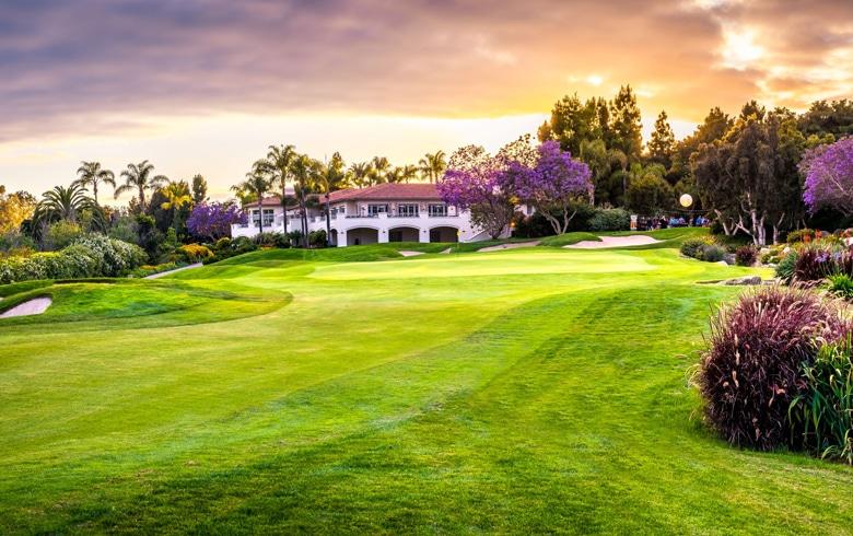 18th Hole at Aviara Golf Club, California