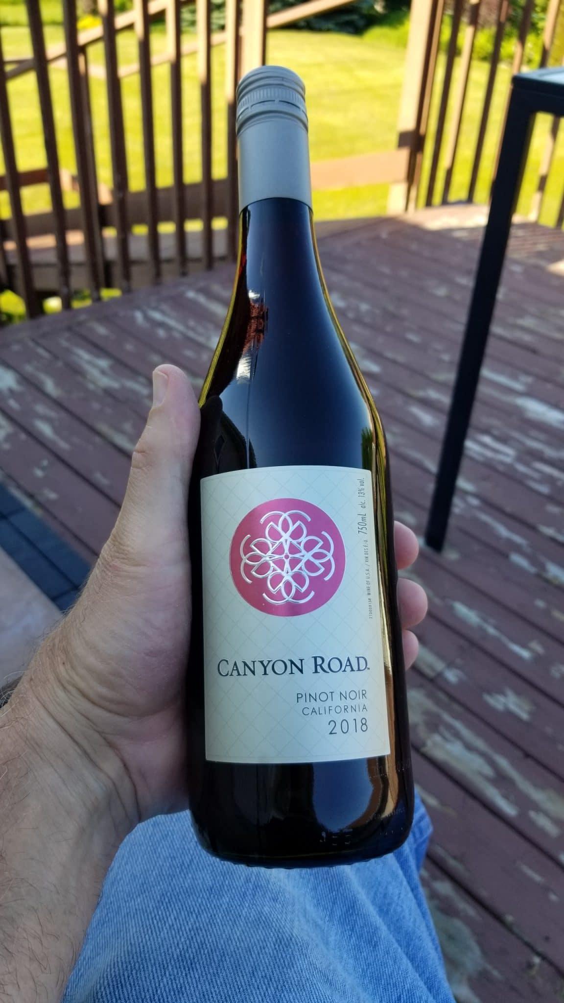 $9.95 - Canyon Road Pinot Noir 2018
