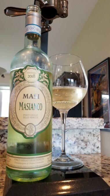 $17.00 – Masi Masianco Pinot Grigio 2018
