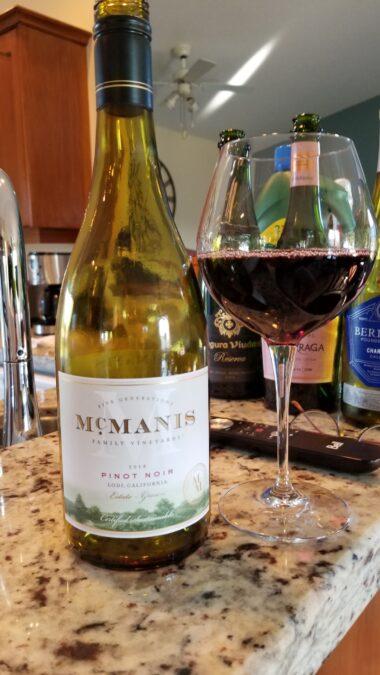 $21.95 – McManis Family Vineyards Pinot Noir, 2018