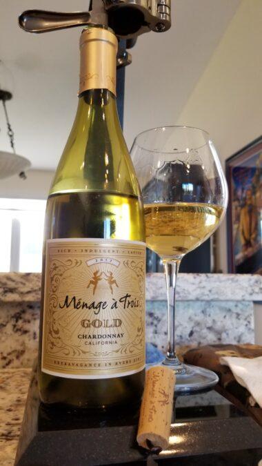 $17.95 – Ménage à Trois Gold Chardonnay 2017