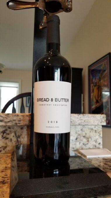 $18.95 – Bread & Butter Cabernet Sauvignon 2018