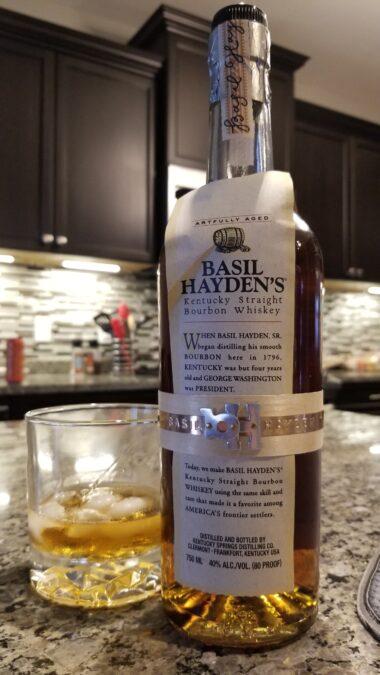 $54.95 – Basil Hayden Kentucky Bourbon, Kentucky, USA
