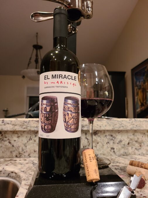 $17.95 – Vicente Gandía El Miracle by Mariscal Garnacha 2017