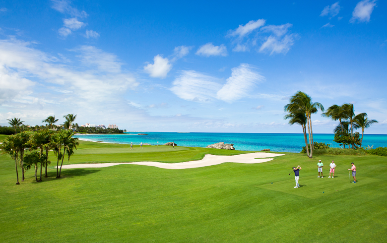 Ocean Club Golf Course, Atlantis Paradise Island, Bahamas