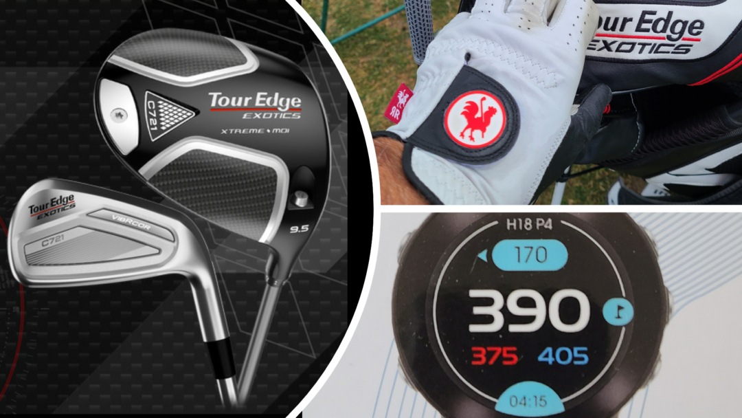 More NEW Golf Stuff and a Tour Edge on Tour – Update